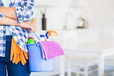 6. Siga nossas dicas de limpeza e organização do lar para ter uma casa mais agradável – Foto: Nada Frágil