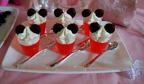 78 – Sobremesa especiais com orelhas Minnie. Fonte: Pinterest