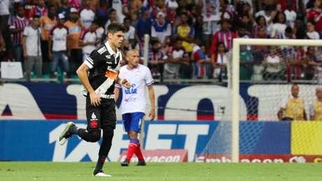 Gabriel Pec comemora empate do Vasco contra o Bahia (Foto: Mauricia da Matta/Photo Premium/Lancepress!)