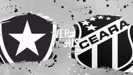 Resultado de imagem para Botafogo x Ceará