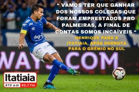 """Henrique também """"provocou"""" o Palmeiras  nos memes com fake news"""