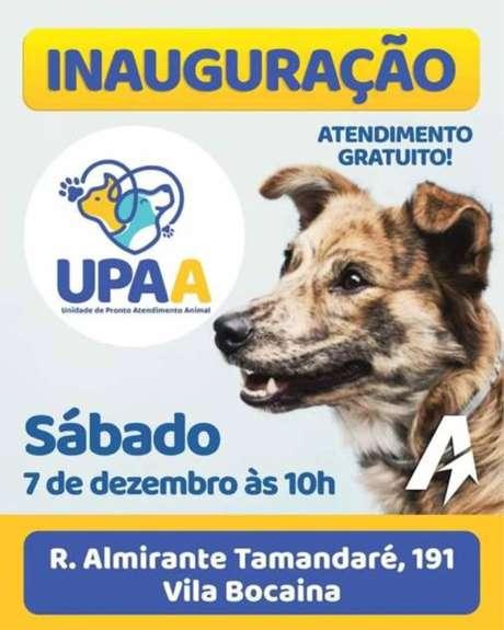 UPAA em Mauá é a primeira a realizar pronto atendimento popular para animais no Estado de São Paulo.