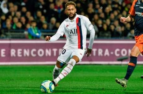 Montpellier x PSG - Neymar