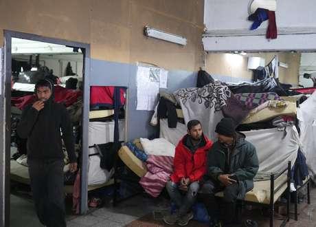 Quem tem vaga em abrigos planeja ficar neles durante o inverno