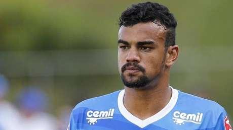 Fabricio Bruno parecia estar abalado logo após rebaixamento do Cruzeiro
