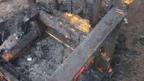 Homem manuseava um artefato explosivo, provavelmente uma granada, que acabou explodindo