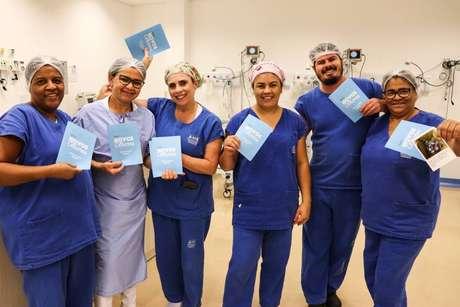 Projeto 'Novos Olhares' ocorre no Hospital de Amor e Santa Casa de Misericórdia de Barretos, no interior paulista.