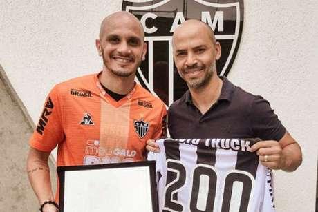 Fábio Santos está no Galo desde junho de 2016- (Divulgação/Atlético-MG)