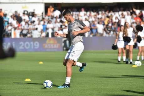Gustavo Henrique já pode assinar pré-contrato com qualquer clube (Foto: Ivan Storti/Santos)