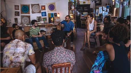 """Caio César dos Santos conduz discussões sobre o que é """"ser homem"""" no projeto """"Entendendo as Masculinidades"""""""