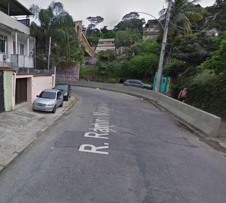 Rua da zona norte do Rio onde cinco jovens morreram em acidente