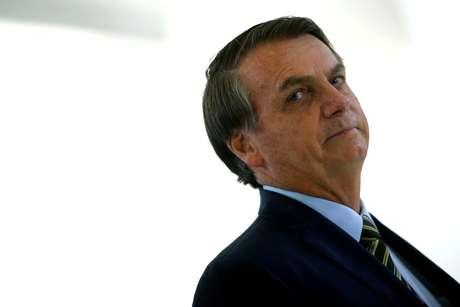 Presidente Jair Bolsonaro durante cerimônia no Palácio do Planalto 09/122019 REUTERS/Adriano Machado