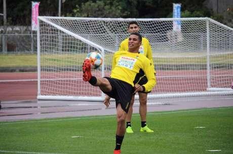 Alan Pinheiro quer 2020 muito positivo (Foto: Divulgação / JEF United)