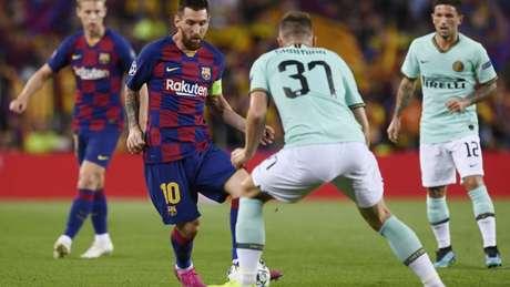 Internazionale x Barcelona (Foto: AFP)