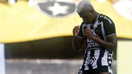 Saída de Marcos Vinícius foi sentida (Foto: Divulgação Twitter Botafogo)