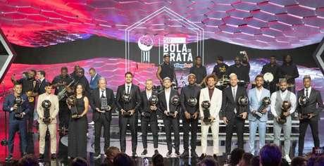 Flamengo dominou a Bola de Prata, com sete jogadores e o treinador (Foto:Photo Premium/Lancepress!)