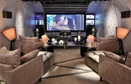 70. Tela gigante para sala de cinema. Fonte: Entenda Antes