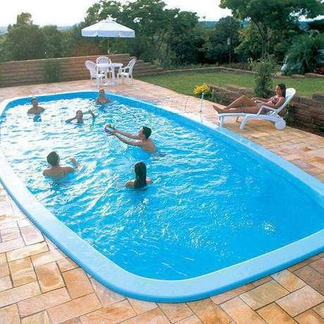 2. A pedra para piscina mineira é muito acessível. Foto: Tudo Construção