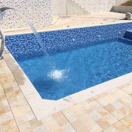 1. Escolher a pedra para piscina é uma tarefa importante. Foto: Dicas Decor