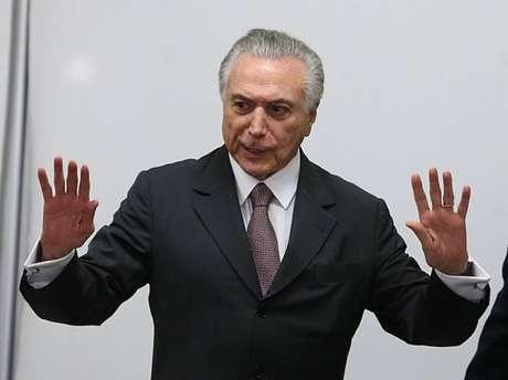 Ex-presidente da república Michel Temer (MDB)