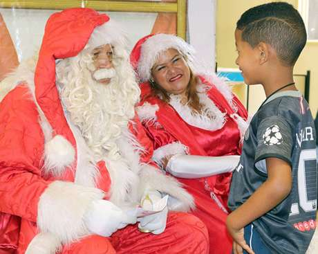 CampanhaPapai Noel dos Correios ocorre há 30 anos.