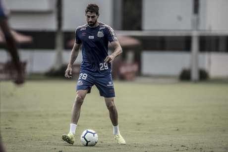 Luan Peres 'previu' que o Palmeiras fosse atrás de Sampaoli (Ivan Storti/Santos)