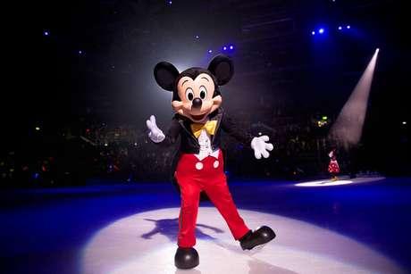 Entre os personagens que estarão no espetáculo está Mickey Mouse, um dos primeiros personagens da Disney