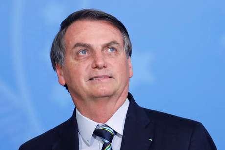 Presidente Jair Bolsonaro durante cerimônia no Palácio do Planalto 10/12/2019 REUTERS/Adriano Machado