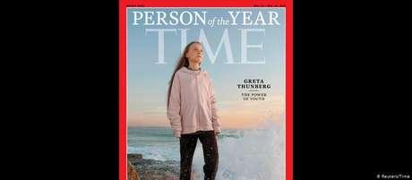 """Ativista é capa da mais recente edição da """"Time"""", que traz a manchete """"O poder da juventude"""""""