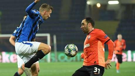 Atalanta está nas oitavas de final da Liga dos Campeões (Foto: Sergei SUPINSKY / AFP)
