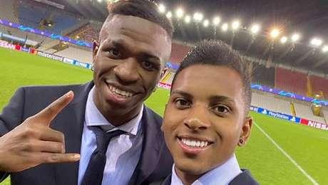 Vinicius Junior e Rodrygo marcam em vitória do Real Madrid pela Liga dos Campeões