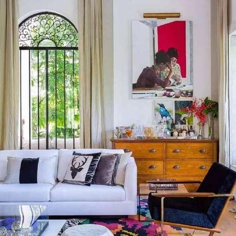 6. Invista no mix de estilos para decorar a sua casa com as tendências 2020 – Foto: Pinterest