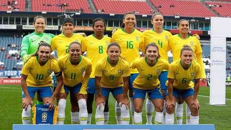 Seleção Brasileira Feminina está em preparação para o próximo Mundial (Foto: Laura Zago/ CBF)