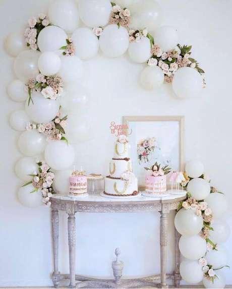 29. Festa em casa para aniversário de casamento – Via: Casa e festa