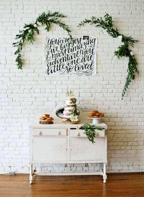 30. Festa em casa com plantas na decoração – Via: Memorable Celebration Decoratorist