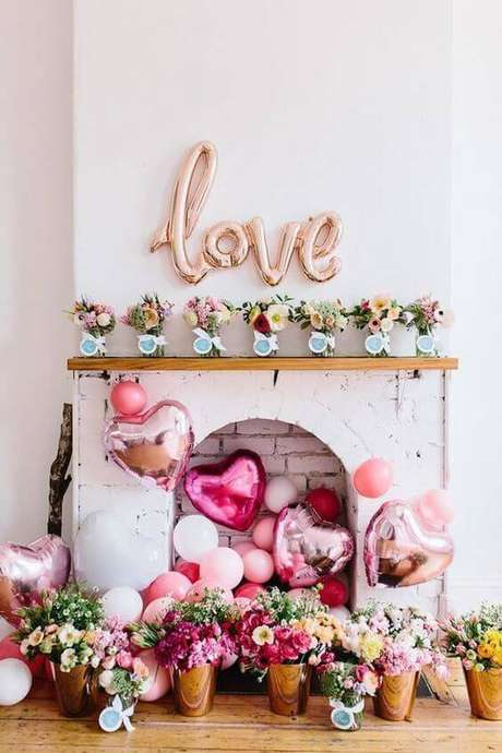 33. Decoração de festa em casa para casamento – Via: Revista Artesanato