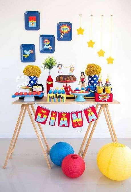 9. Decoração de festa em casa infantil – Via: Ideias Decor