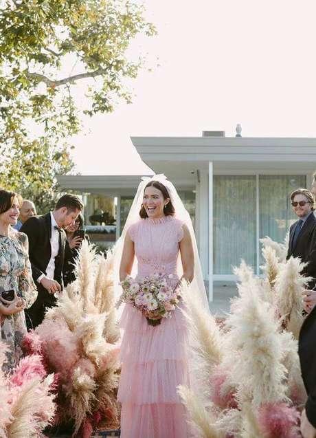 50. Cerimônia de casamento e festa em casa – Via: Pinterest