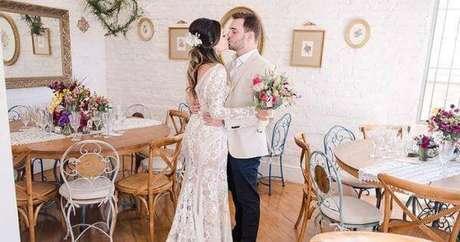 52. Festa em casa para mini casamento – Via: Universo das noivas