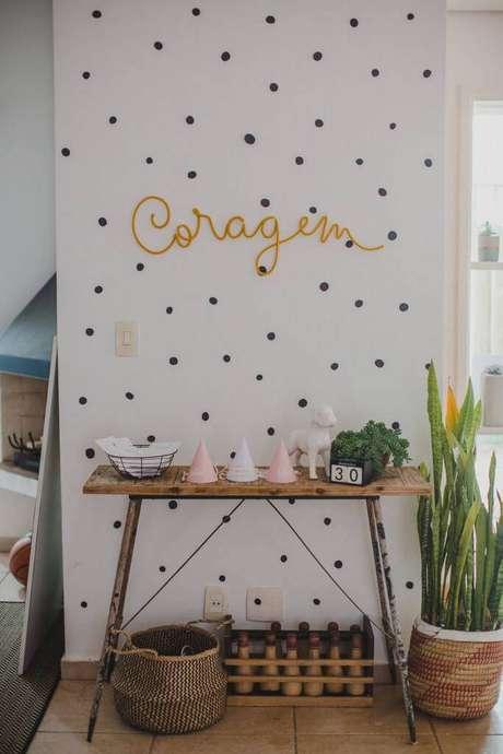 17. Festa em casa com decoração simples – Via: Lápis de Mãe