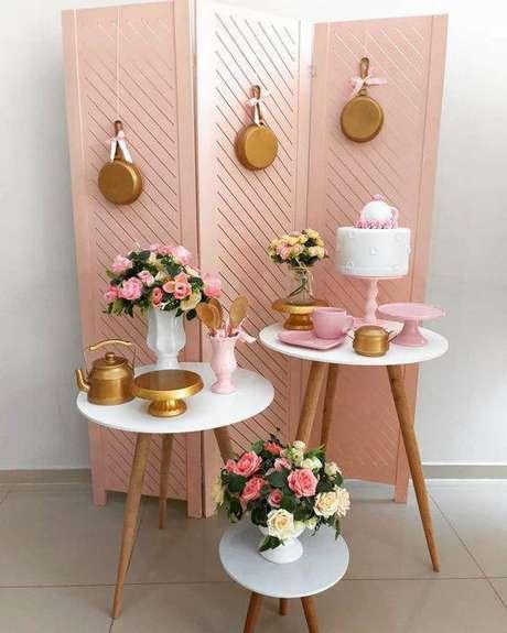 21. Festa em casa para chá de panela – Via: Tua Casa