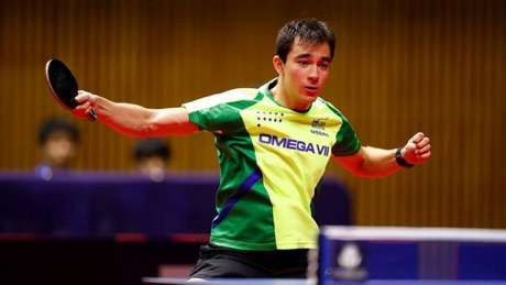 Hugo Calderano não resistiu ao chinês Fan Zhendong (Foto: Hideyuki Imai / Divulgação ITTF)