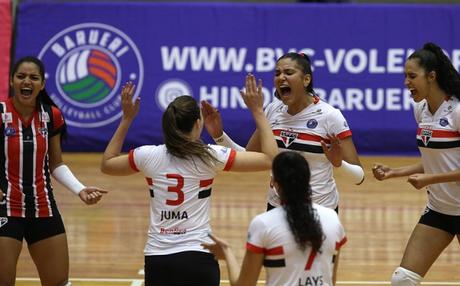 O São Paulo/Barueri é o atual campeão paulista (Foto: Divulgação/SPFC)
