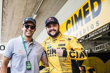 Lucas Moraes e Felipe Fraga (Bruno Terena/RF1)