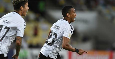 Reforço do Santos, Madson atuou no Athletico neste ano (Foto: Reprodução/ Twitter Athletico Paranaense)
