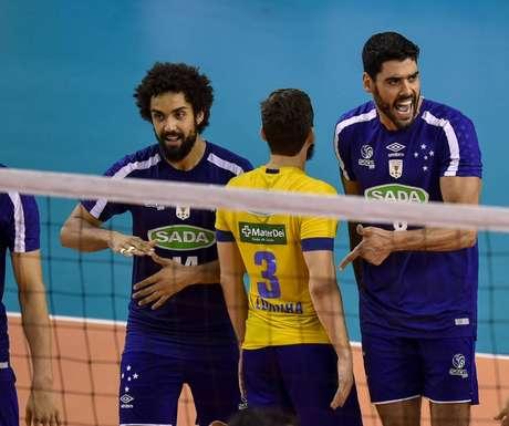 O Cruzeiro venceu mais uma na Superliga (Foto: Yuri Edmundo / Agencia i7 / Sada Cruzeiro)
