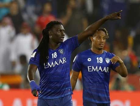 Gomis marcou o gol da classificação.