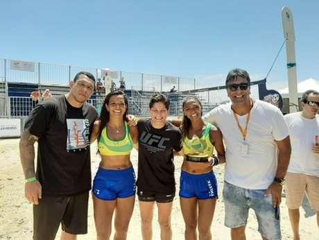Luis Henrique KLB,Lana Miranda, Priscila Pedrita,Josy Souza e Luiz Carlos Gallo(Foto: Claudio Cavalcante)
