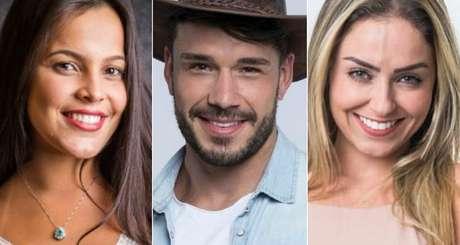 Emilly, Lucas e Paula: comportamento polêmico garantiu o triunfo em reality shows.