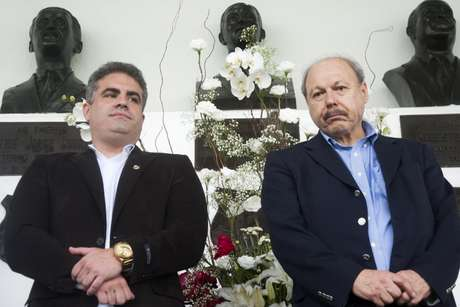 Peres não pediu ajuda ao seu vice para contratar novo técnico (Foto: Ivan Storti/Santos)